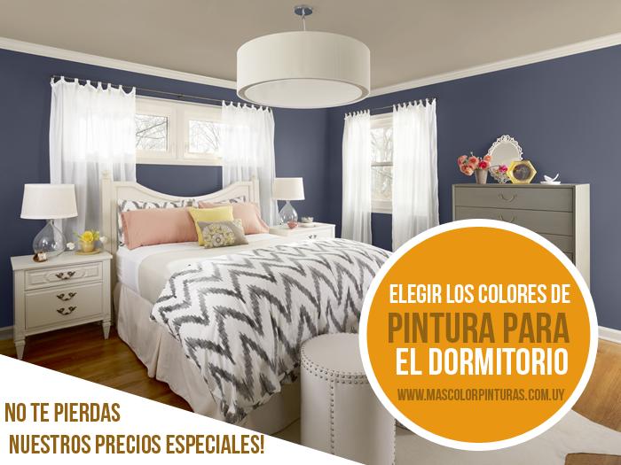 Elegir los colores de pintura para el dormitorio mas - Color de pintura para dormitorio ...
