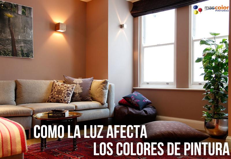 Como la luz afecta los colores de pintura mas color for Los colores de pintura