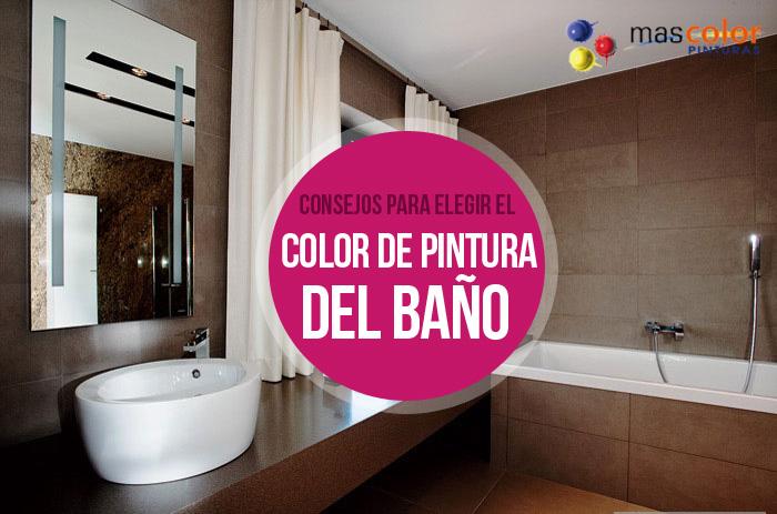 Consejos para elegir el color de pintura del cuarto de baño | Mas ...