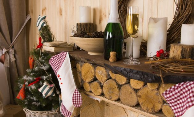 Ideas modernas para decorar la casa en navidad mas color for Ideas para hacer tu casa