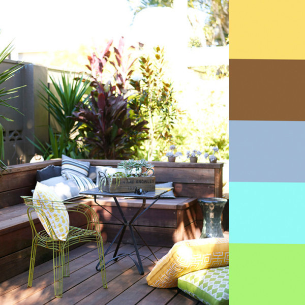 Colores de pintura que no fallan en terrazas y patios mas color pinturas pintureria renner - Pintar terraza ...