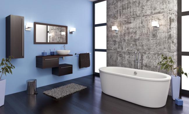 Baño Blanco Para Bizcocho: cuáles son las tendencias de colores para baños en 2015