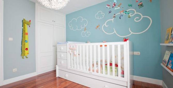 Colores de pintura modernos para el cuarto del beb mas - Color de pintura para habitacion ...