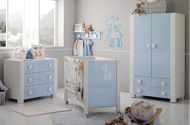 Colores de pintura modernos para el cuarto del beb mas - Color pared habitacion bebe ...