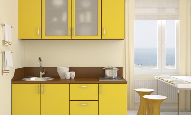 6 trucos que hacen lucir grande una cocina peque a mas - Disenar mi propia cocina ...