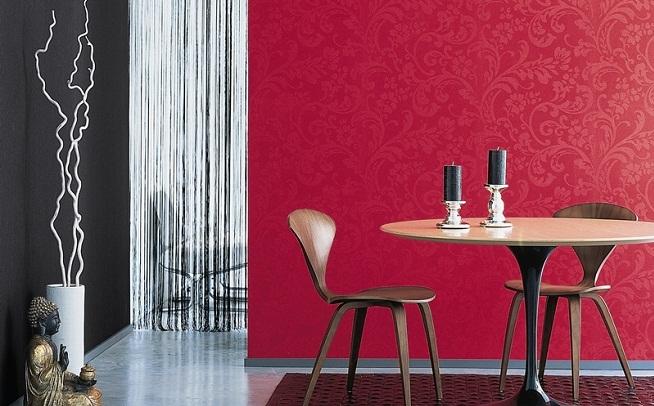 6 ideas para renovar una habitaci n cambiando una sola - Papel decorativo para pared ...