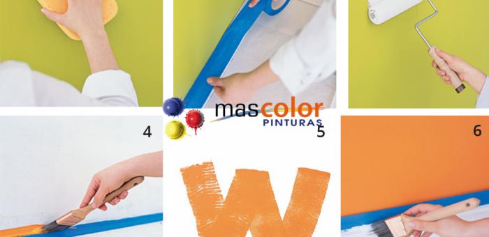 Pasos para pintar una habitaci n mas color pinturas - Pasos para pintar una pared ...