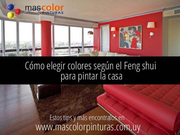 C mo elegir los colores seg n feng shui para pintar la for Colores para la casa segun el feng shui
