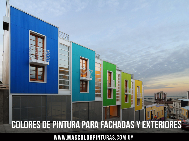 Consejos tiles para elegir el color de pintura para exteriores y fachadas mas color pinturas - Colores para pintar fachadas exteriores ...