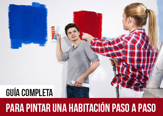 Gu a pr ctica para pintar una habitaci n paso a paso mas - Pasos para pintar una habitacion ...